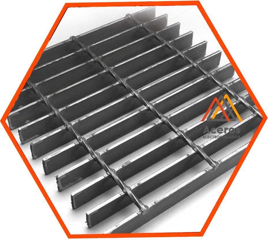 Rejilla de acero industrial electroforjada